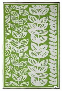 Teppich Grün Weiß : garten im quadrat outdoor teppich male gr n wei bl ten muster matte ~ Indierocktalk.com Haus und Dekorationen
