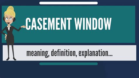 casement window   casement window  casement window meaning explanation