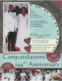 diy funeral programs collections of congratulation church anniversary sle