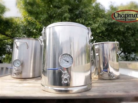 kickstarter chapman homebrew equipment mash tuns