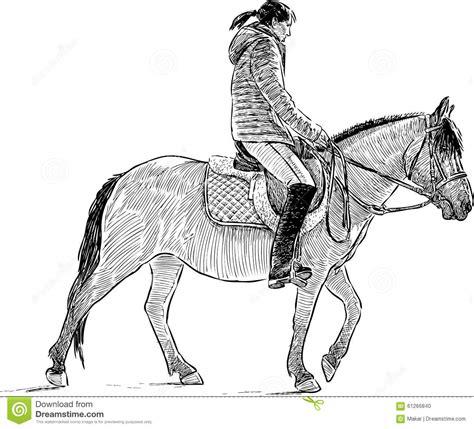 Ride A Horse Drawing Wwwimgkidcom The Image Kid Has It