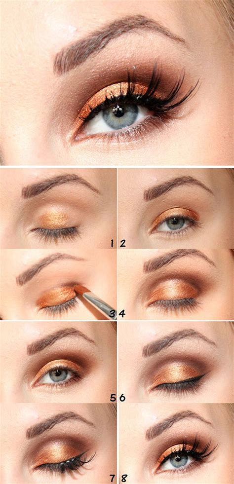 easy simple fall makeup tutorials  beginners learners  modern fashion blog