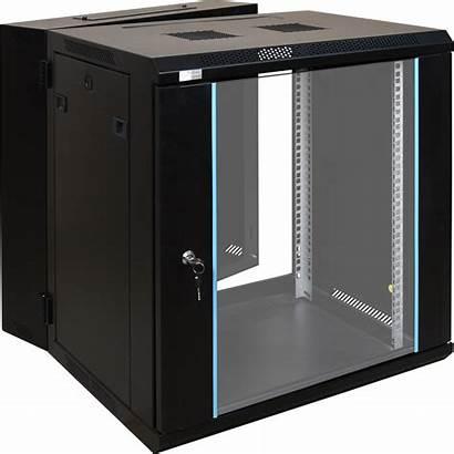 Rack Cabinet 12u Mounted Double Door Assembled