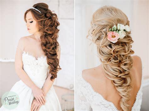 Romantic Princess-style Bridal Curls » Praise Wedding