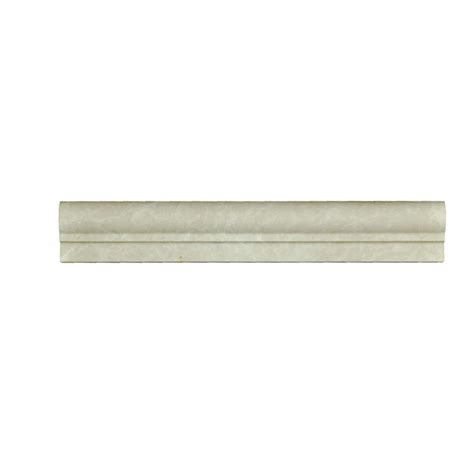 botticino beige marble chair rail ogee 1 molding