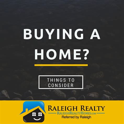 Things To Consider When Buying A Home In Raleigh Nc