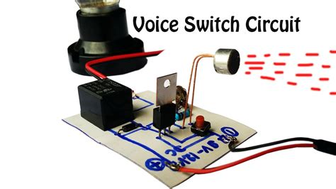 automatic switch   light  voice