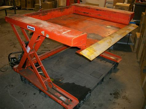 Presto Lifts 4,000lb Xz50-40 Floor Level Hydraulic Lift