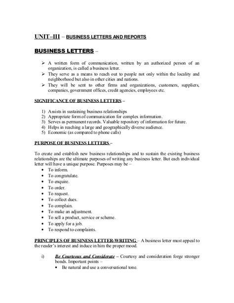 Unit–iii – forms of technical communication