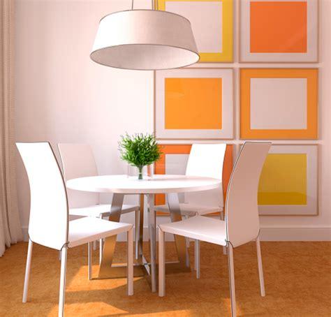 efecto de los colores en la decoracion de tu casa comedor