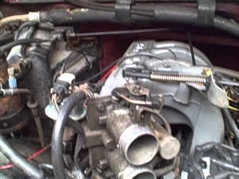 replace  throttle position tps sensor youtube