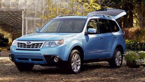 Listino Prezzi Subaru Forester Model Year 2011