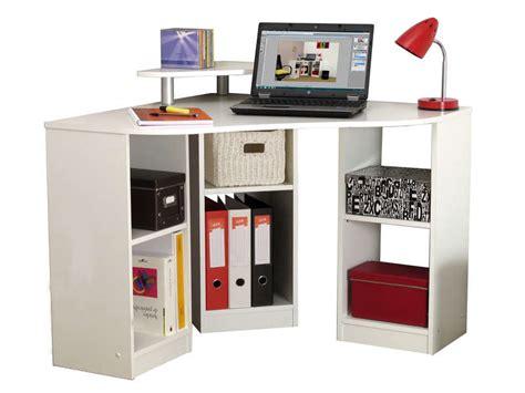 conforama bureau d angle bureau d 39 angle corner coloris blanc vente de bureau