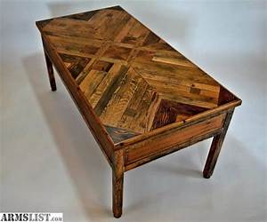 armslist for sale custom handmade concealment coffee table With handmade coffee table for sale