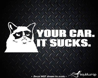 Family Sucks Meme - grumpy cat hates your stick figure family meme vinyl decal sticker 8 5 quot 3 19 picclick