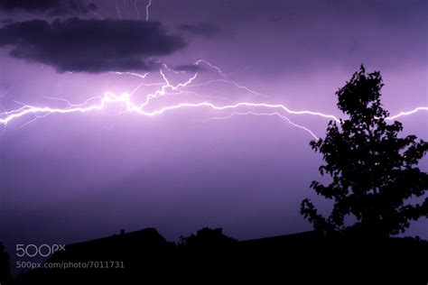 Photograph Horizontal Lightning By Bart Kuipers On 500px