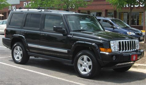 jeep commander vs image gallery 2006 jeep commander