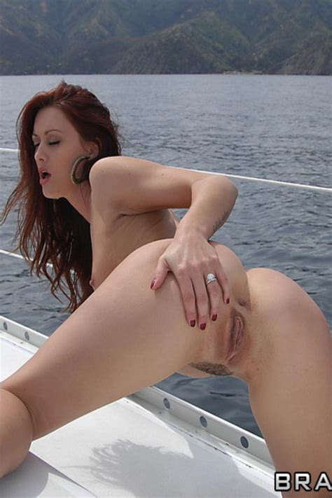 Hot Redhead MILF In Bikini Teasing Photos Karlie Montana