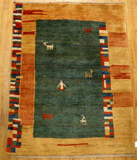 Gabbeh Rug #23729 Size 4' 1x5' 2  Borokhim's Oriental Rugs