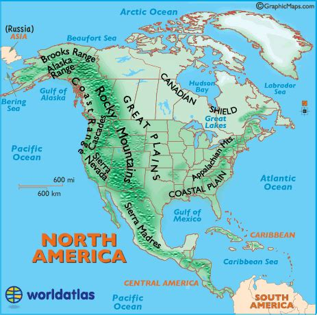map of mountain ranges landforms of america mountain ranges of america united states landforms map of