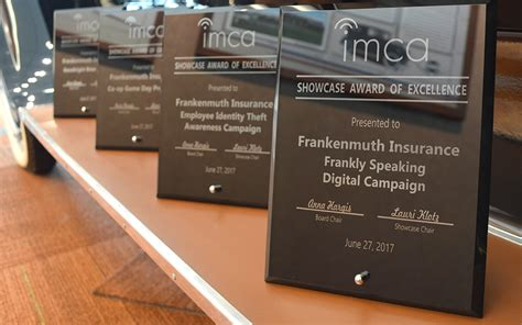 frankenmuth insurance brings home marketing awards
