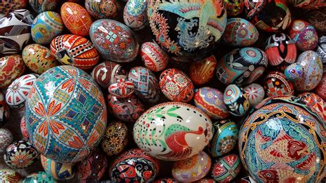 pysanky eggs  abridged history martha stewart