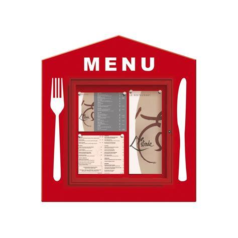 menu exterieur pour restaurant vitrine d affichage pour les restaurants