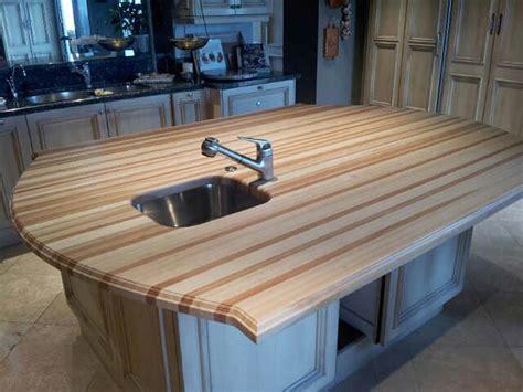 Beech Wood Countertop in San Antonio, Texas
