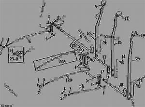 Selective Control Levers And Linkage  04g18  - Tractor John Deere 4230 - Tractor