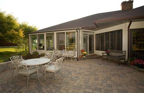 patio enclosures sunroom traditional deck