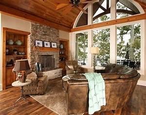16, Awesome, Rustic, Farmhouse, Lake, House, Decor, Ideas