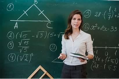 Prof Une Teacher Maths Habiller Comment Son