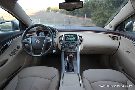 How Much Is A Buick Lacrosse 2012 by 2012 Buick Lacrosse Eassist Interior Dashboard Picture