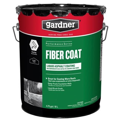 gardner  gal fiber coat liquid asphalt coating