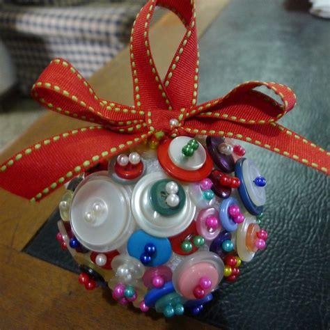 mrs johninghana diy christmas gifts button ornament