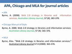 Apa Reference Page Example Journal Article Gallery For Apa Reference Page Journal Article