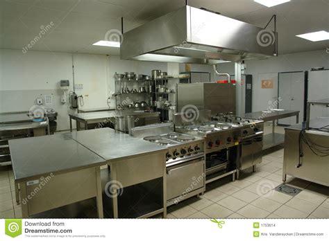 commercial cuisine professionnelle cuisine professionnelle images stock image 1753614