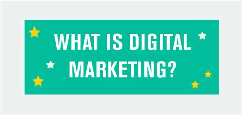 What S Marketing by Infographic What Is Digital Marketing