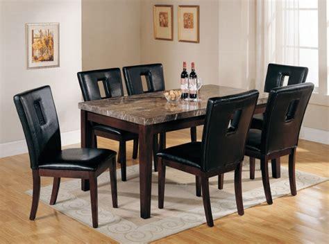 Marble Top Dining Room Sets Marceladickcom