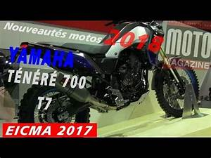 Salon Moto Milan 2017 : yamaha 700 t n r t7 2018 salon de la moto de milan eicma 2017 youtube ~ Medecine-chirurgie-esthetiques.com Avis de Voitures