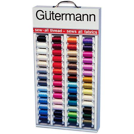 Gutermann In-Home Thread Display, 64 Colors - Walmart.com