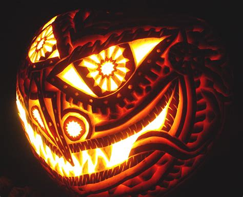 awesome carved pumpkins designs amazing halloween pumpkin designs