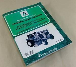 Allis Chalmers 900 Series 912