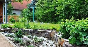 Terrasse Tiefer Als Garten : terrasse wege und natursteinmauer bethke garten und landschaft ~ Orissabook.com Haus und Dekorationen