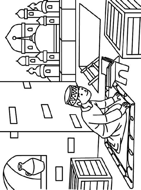 teacherself  coloring pages  ramadan