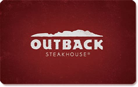Outback Steakhouse Gift Card Balance