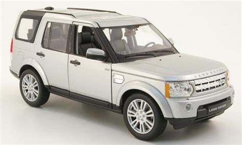 toy range rover land rover discovery 4 gray welly diecast model car 1 24