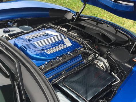 corvette   custom painted  supercharger