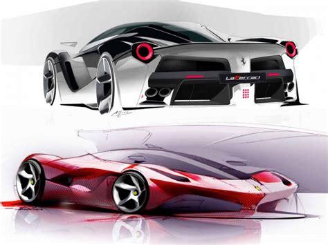 LaFerrari: design sketches and details - Car Body Design