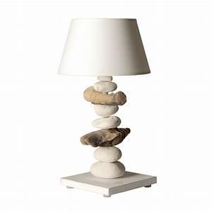 Lampe De Chevet Dorée : lampe de chevet esprit de lagon blanche made in france ~ Dailycaller-alerts.com Idées de Décoration